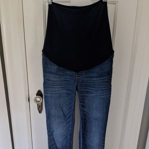 Madewell maternity blue jeans size 26